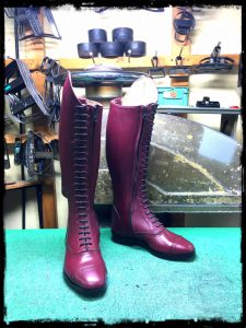 longboots-lace-up wine