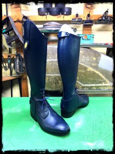 longboots-laceup navy